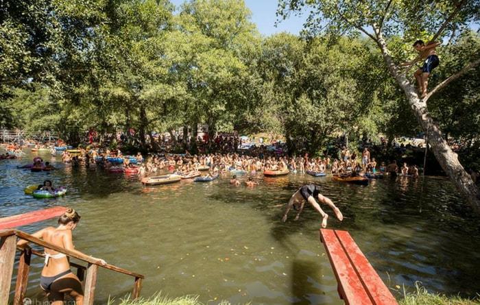Festival Paredes de Coura 2018: el bosque y el río Coura