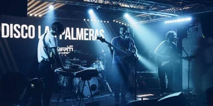 Página de Disco Las Palmeras! - La Galleta Molona