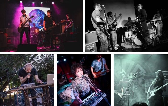 5 bandas más y ya van 70 en nuestro directorio de música alternativa