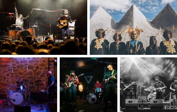 ¡Nuevas bandas en nuestro directorio de música alternativa!