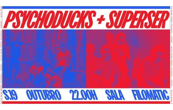 Galicia Molona regresa con los conciertos de Psychoducks y Superser