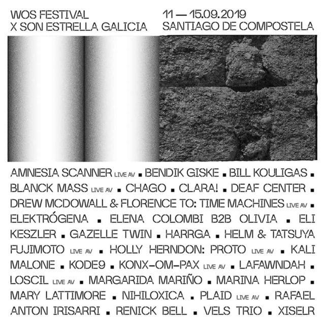 Cartel del festival WOS Festival 2019