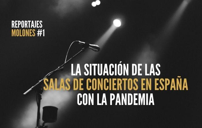 La crítica situación de las salas de conciertos en España con la pandemia
