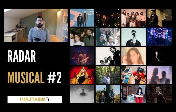 RADAR MUSICAL #2 | Novedades de bandas emergentes y música alternativa